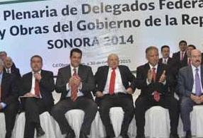 Reunión Delegados Federales en Sonora.