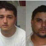 José Ángel Woo Ibarra y Douglas Ramón Burruel Rodríguez fueron detenidos como presuntos copartícipes en el doble homicidio.