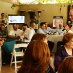 Javier Gándara Magaña, candidato del PAN a la gubernatura de Sonora, en reunión con empresarios y comerciantes de San Luis Río Colorado.