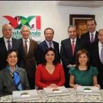 Ex presidentes del PRI.