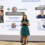 Natalia Rivera, secretaria general del PRI Sonora y coordinadora general de la campaña de Claudia Pavlovich.