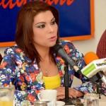 Lorenia Valles, candidata del PRD a la alcaldía de Hermosillo.