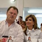 Ernesto Gándara y su respaldo a Claudia.