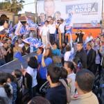 Javier Gándara también visitó Agua Prieta.