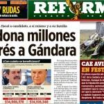 La publicación del Reforma.