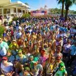 """El candidato del PAN a Gobernador dio el banderazo de arranque en la carrera """"Color Sonora"""", en la cual se comprometió ante más de 5 mil asistentes al apoyo de más espacios deportivos y en general de todas las actividades que sean benéficas para la salud y la sana convivencia."""