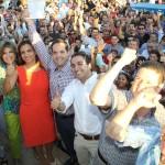Familiares, amigos y compañeros de fórmula, acompañaron al Maloro Acosta a recibir su constancia como Presidente Municipal Electo de Hermosillo.