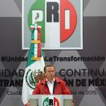 César Camacho Quiroz, líder nacional del PRI.