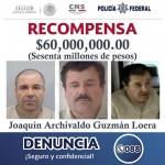 """El gobierno mexicano ofrece recompensa por Joaquín """"El Chapo"""" Guzmán."""