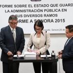Entrega formal del Sexto y último Informe de Gobierno de Guillermo Padrés.