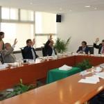 Sesión de la Comisión Nacional de Procesos Internos del PRI, en la que se definieron los términos y se emitió la convocatoria para renovar la dirigencia nacional del tricolor.