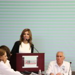 Claudia Pavlovich solicitó apoyo a sus ex compañeros en el Senado para gestionar mayores recursos para la entidad.