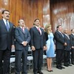 Los gobernadores electos por el PRI, entre ellos Claudia Pavlovich, de Sonora, estuvieron presentes en el Consejo Político celebrado ayer.