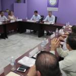 Reunión de equipos de transición en la SEDESON.