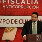 Odracir Espinoza estará al frente de la Fiscalía Anticorrupción adscrita a la Procuraduría General de Justicia del Estado.