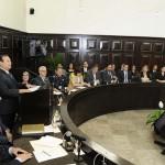 Ante el Cabildo de Hermosillo rindió su último informe de gobierno el alcalde saliente Alejandro López Caballero.
