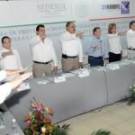 El alcalde de Hermosillo, Maloro Acosta, se sumó a la Cruzada Nacional Contra el Hambre.