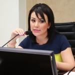 Diputada Carolina Lara Moreno, presidenta de la Comisión de Presupuestos y Asuntos Municipales.