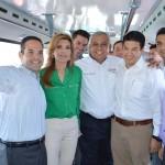 El alcalde Maloro Acosta resaltó la importancia de la unión de esfuerzos entre concesionarios de Sictuhsa y el Gobierno Estatal, para iniciar la reconstrucción del transporte público, que beneficiará a miles de usuarios de Hermosillo.