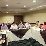 Encuentro entre diputados del PAN y el Procurador de Justicia de Sonora.
