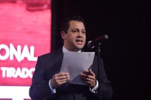 Ernesto de Lucas Hopkins clausuró el FAOT 2016 en representación de la gobernadora Claudia OPavlovich.