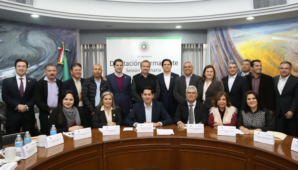 Congreso del Estado en Navojoa.