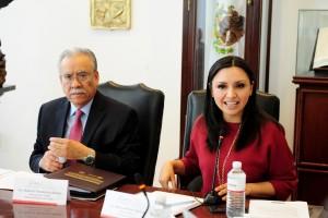 Horacio Valenzuela y Natalia Rivera.