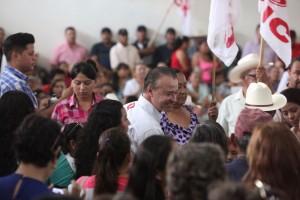 TYambién en Elota recibió Quirino las adhesiones del priísmo.