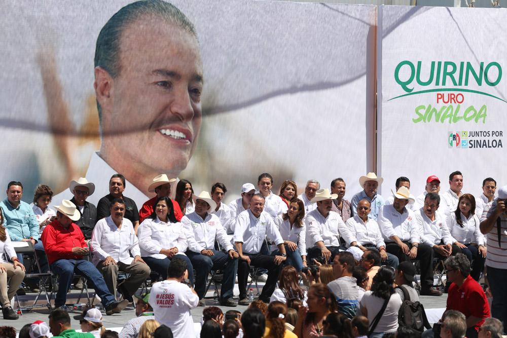 Quirino Ordaz en Oso Viejo.
