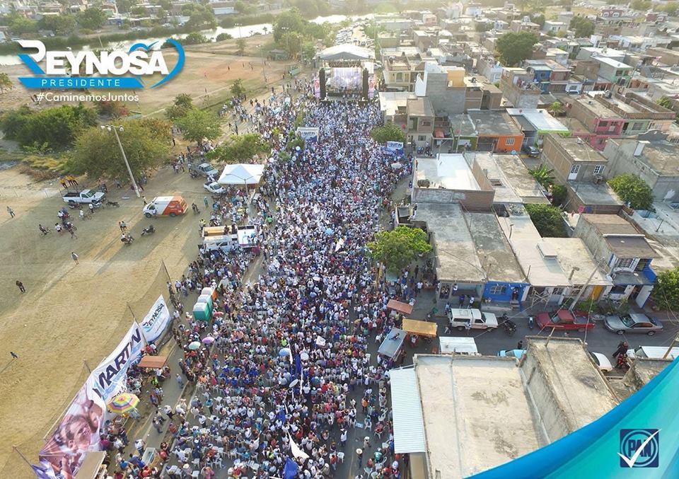 Gran cierre de los candidatos del PAN en Mazatlán.