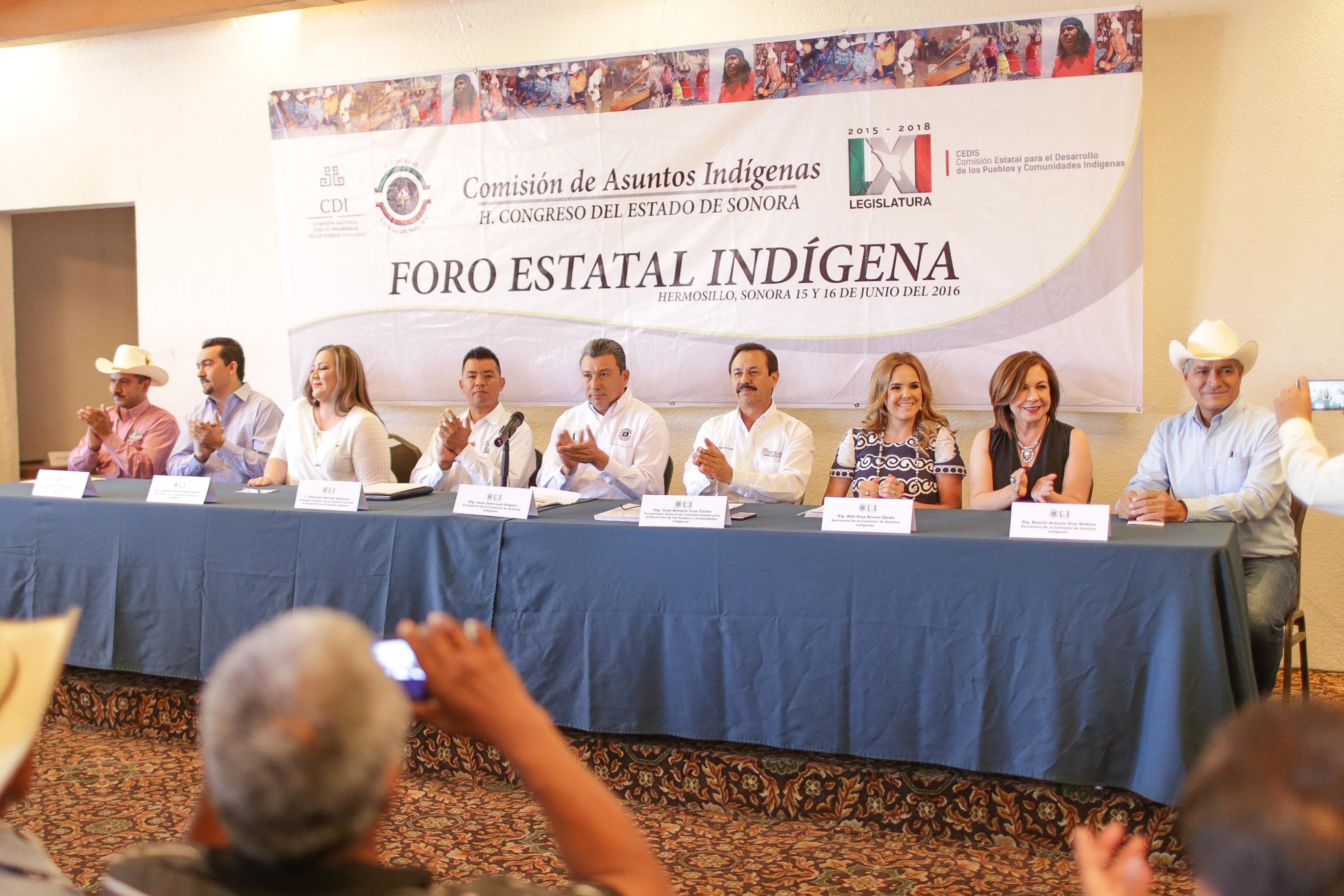 Foro indígena - Hmo%2c Son - LXI Leg. - Com. Social Congreso de Sonora - AFCES - 140616IMG_0102