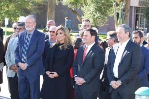 Gobernadora Claudia Pavlovich Sonora) y gobernador Doug Ducey (Arizona).