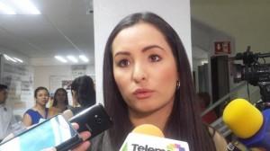 Diputada Iris Sánchez.